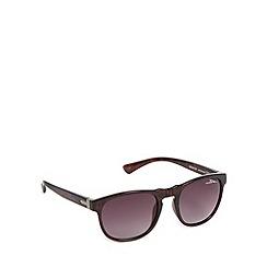 Bloc - Black tortoiseshell frame oval sunglasses