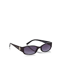 Gionni - Purple ombre plastic diamante temple sunglasses
