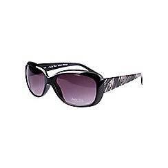 Gionni - Brown small plastic animal arm detail sunglasses