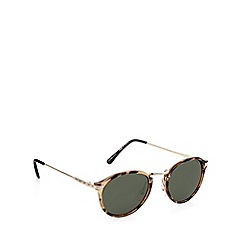 Jeepers Peepers - Brown tortoiseshell round sunglasses