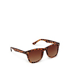 Red Herring - Brown tortoise shell square sunglasses
