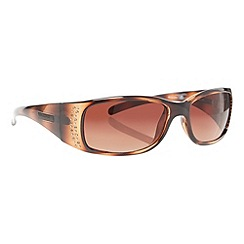 Bloc - Brown slim tortoise shell frame sunglasses