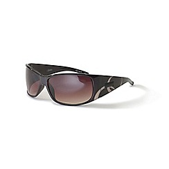 Bloc - Shiny brown 'Capricorn' cream swirl sunglasses