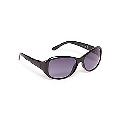 Beach Collection - Black oval sunglasses