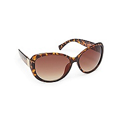 Beach Collection - Light brown tortoise shell cat eye sunglasses