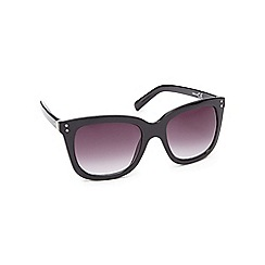 Red Herring - Black tinted square sunglasses