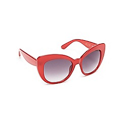 Floozie by Frost French - Red butterfly sunglasses