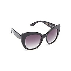 Floozie by Frost French - Black butterfly sunglasses