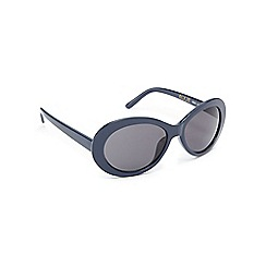 Floozie by Frost French - Navy oval sunglasses