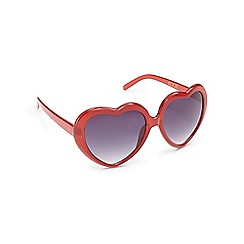 Floozie by Frost French - Red heart sunglasses