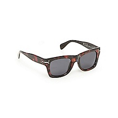 Floozie by Frost French - Black floral print wayfarer sunglasses
