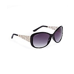 Lipsy - Black filigree sunglasses