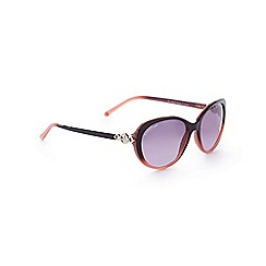 Lipsy - Red ombre cat eye sunglasses