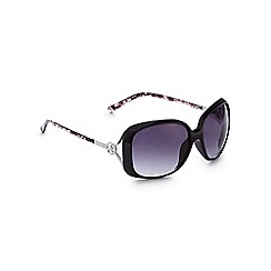 Lipsy - Black snake arm square sunglasses
