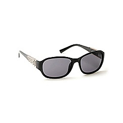 Guess - Black plastic arm logo sunglasses