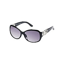 Guess - Black diamante logo sunglasses