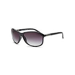 Bloc - Shiny black 'Bee' sunglasses