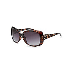 Bloc - Shiny brown 'Beach' tortoiseshell sunglasses