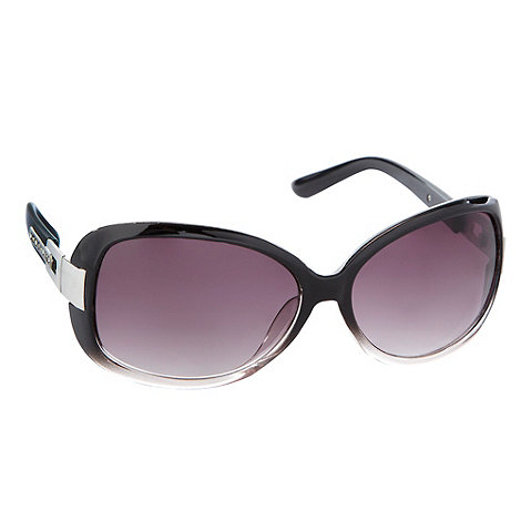 Beach Collection - Purple diamante arm sunglasses