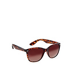 Red Herring - Brown tortoise shell wayfarer sunglasses