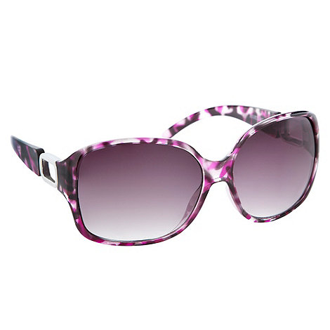 Red Herring - Purple large plastic sunglasses