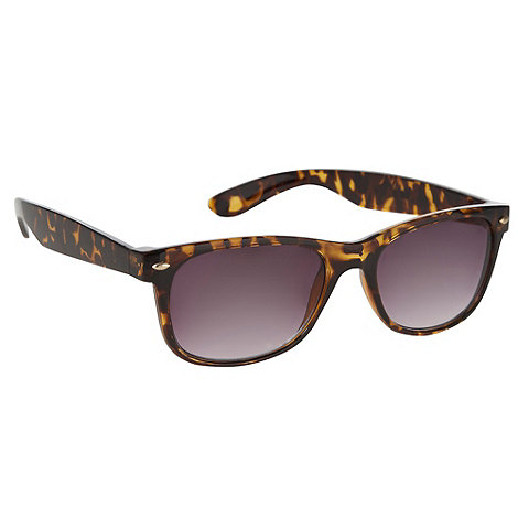 Red Herring - Brown plastic tortoise shell framed sunglasses