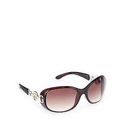 Guess - Brown graduating round sunglasses