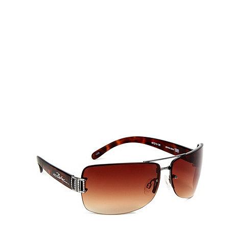 Bloc - Brown +stargaze+ tortoiseshell sunglasses