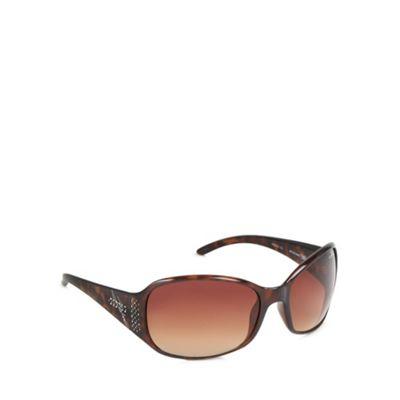 Bloc Brown diamante tortoise shell sunglasses - . -