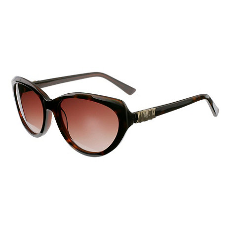 Ted Baker - Brown +vivaine+ cat eye frame sunglasses