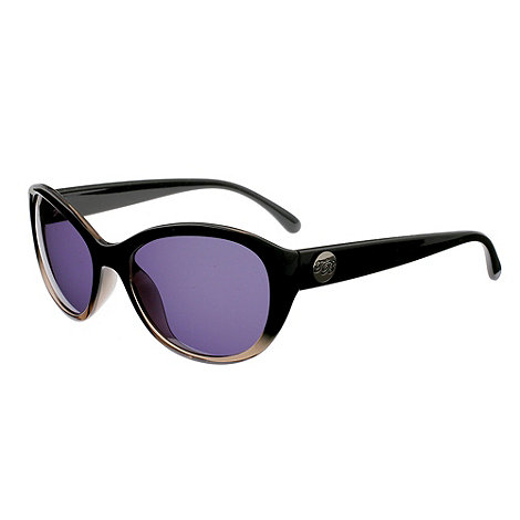 Ted Baker - Black +sibilia+ oval fashion sunglasses