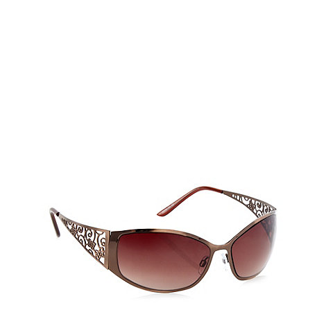 Beach Collection - Bronze filigree arm sunglasses
