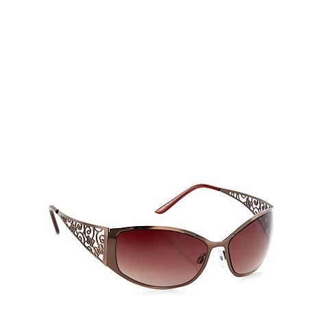 Beach Collection - Bronze filigree arm sunglasses