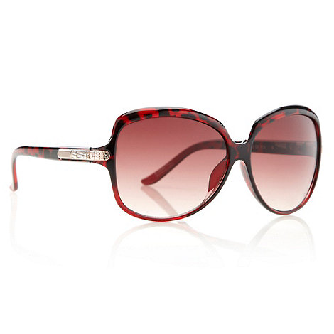 Butterfly by Matthew Williamson - Designer brown graduating tortoise shell sunglasses