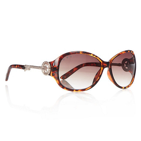Star by Julien Macdonald - Light brown plastic tortoise shell frame sunglasses