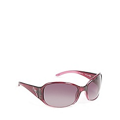 Bloc - Dark red 'Bali' tortoiseshell sunglasses