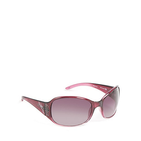 Bloc - Dark red tortoiseshell sunglasses