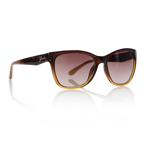 Guess - Brown graduating d-frame sunglasses