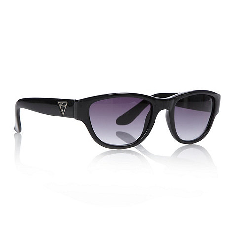 Guess - Black graduating d-frame sunglasses