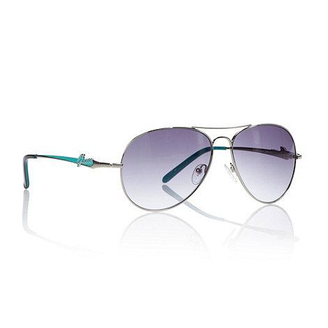 Guess - Purple graduating enamelled aviator sunglasses