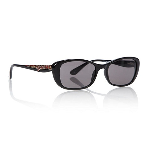 Guess - Black animal detail sunglasses
