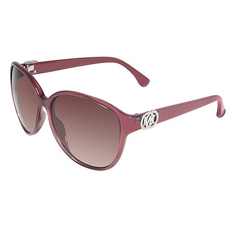 Michael Kors - Columbia light red plastic sunglasses