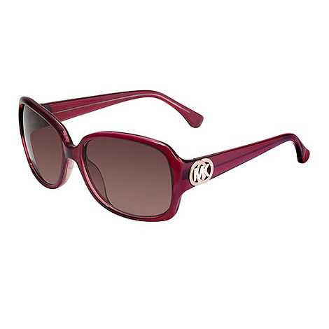 Michael Kors - Harper red plastic sunglasses