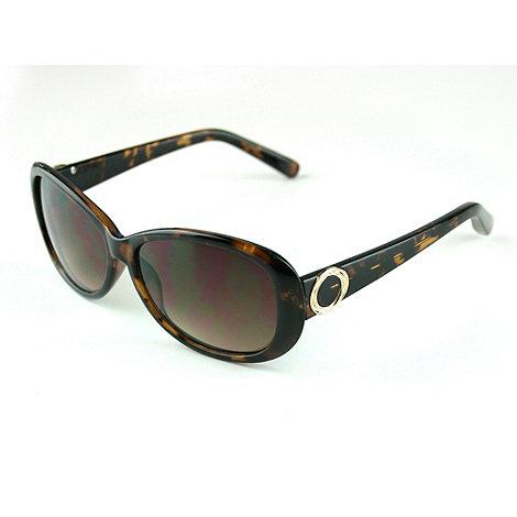 Suuna - Brown round tortoiseshell sunglasses