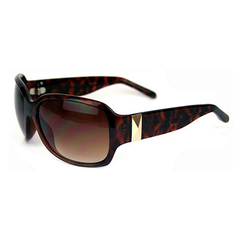 Suuna - Brown large tortoiseshell sunglasses