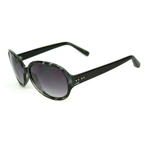 Suuna - Grey round tortoiseshell sunglasses