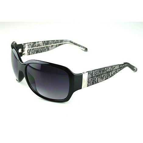 Suuna - Black lace arm sunglasses