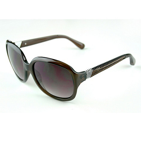 Suuna - Brown crinkle arm sunglasses