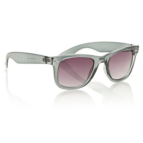Principles by Ben de Lisi - Designer grey clear square sunglasses
