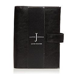 J by Jasper Conran - Designer black leather organiser